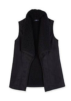 Amy Byer Girls 7-16 Sherpa Vest