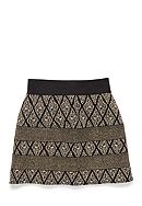 Amy Byer Tapestry Circle Skirt Girls 7-16