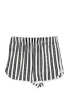 Amy Byer Double Stripe Soft Shorts Girls 7-16