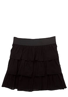 Amy Byer Tiered Challis Skirt Girls 7-16