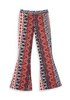 Amy Byer Aztec Print Flare Pant Girls 7-16