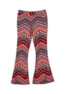 Amy Byer Printed Flare Pant Girls 7-16