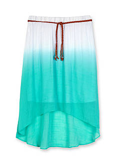 Amy Byer Dip Dye Skirt Girls 7-16