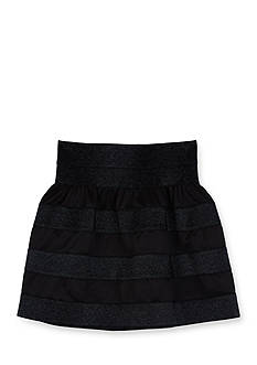 Amy Byer Solid Taping Trim Full Circle Skirt Girls 7-16