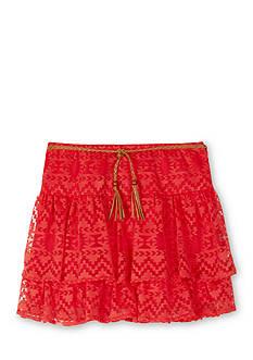 Amy Byer Burnout Tier Skirt Girls 7-16
