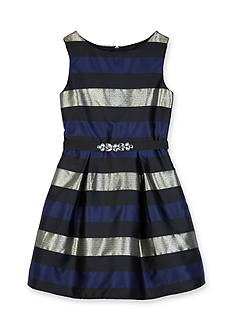 Amy Byer Striped Party Dress Girls 7-16