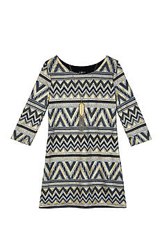 Amy Byer Hatchi And Missoni Print Dress Girls 7-16