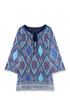 Amy Byer Printed Sheath Dress Girls 7-16