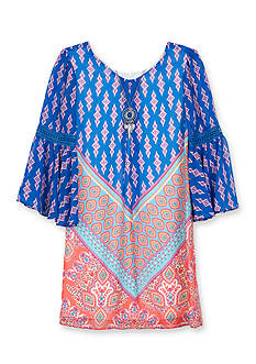 Amy Byer Tribal Print Dress Girls 7-16