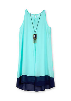 Amy Byer Colorblock Swing Dress Girls 7-16
