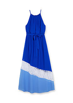 Amy Byer Colorblock Maxi Dress Girls 7-16