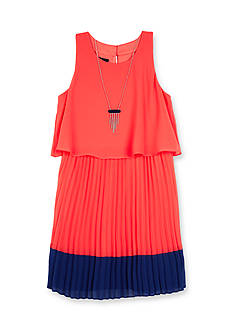 Amy Byer Colorblock Popover Dress Girls 7-16