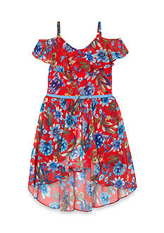 Amy Byer Floral Ruffle Dress Girls 7-16