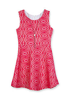 Amy Byer Lace Skater Dress Girls 7-16