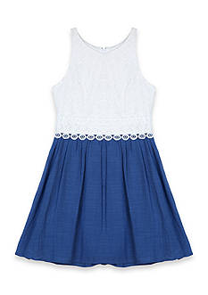 Amy Byer Lace Cutaway Dress Girls 7-16
