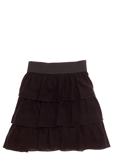 Amy Byer Tiered Ruffle Skirt Girls Plus