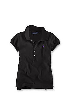 Ralph Lauren Childrenswear Short Sleeve Polo Girls 4-6x