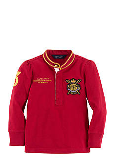 Ralph Lauren Childrenswear Equestrian Rugby Shirt Girls 4-6x