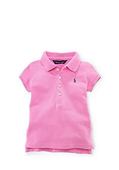 Ralph Lauren Childrenswear Cotton Mesh Polo Girls 4-6x