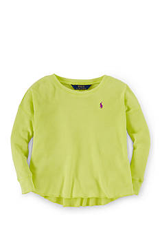 Ralph Lauren Childrenswear Waffle-Knit Thermal Shirt Girls 4-6x