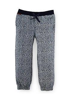 Ralph Lauren Childrenswear Floral Jogger Pant Girls 4-6x
