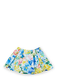 Ralph Lauren Childrenswear Pleated Floral Skirt Girls 4-6x