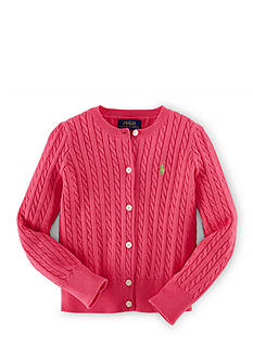 Ralph Lauren Childrenswear Cable Knit Cardigan Girls 4-6x