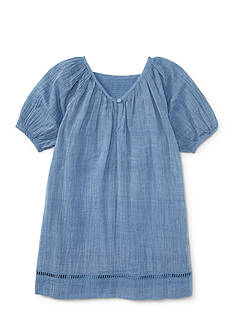 Ralph Lauren Childrenswear V-Back Dress Girls 4-6x