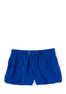 Ralph Lauren Childrenswear Graphic Track Short Girls 4-6x