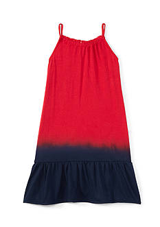 Ralph Lauren Childrenswear Jersey Dip Dye Maxi Dress Girls 4-6x
