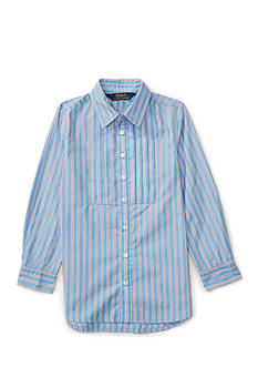 Ralph Lauren Childrenswear Striped Poplin Tunic Girls 4-6x