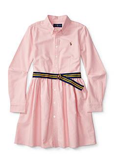 Ralph Lauren Childrenswear Oxford Dress Girls 4-6x