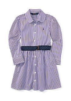 Ralph Lauren Childrenswear Bengal Stripe Dress - Girls 4-6x