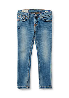 Ralph Lauren Childrenswear Bowery Straight Jean Girls 4-6x