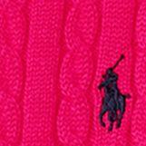 Little Girls Sweaters: Sport Pink Ralph Lauren Childrenswear Mini-Cable Cotton Cardigan Girls 4-6x
