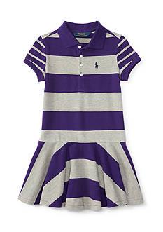 Ralph Lauren Childrenswear Stretch Mesh Mix and Match Dress Girls 4-6x