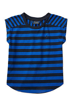Ralph Lauren Childrenswear Striped Jersey Tee Girls 4-6x