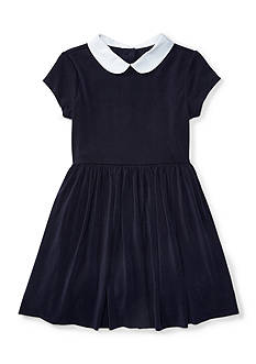 Ralph Lauren Childrenswear Crepe Jersey Dress Girls 4-6x
