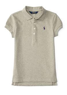 Ralph Lauren Childrenswear Stretch Mesh Polo Girls 4-6x