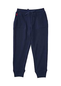 Ralph Lauren Childrenswear Cotton-Blend Terry Jogger Girls 4-6x