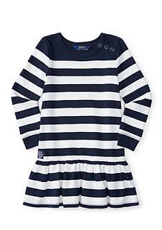 Ralph Lauren Childrenswear Striped Dress Girls 4-6x