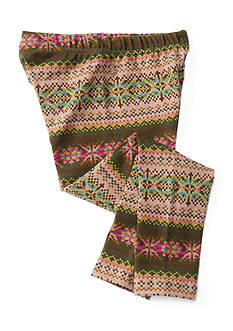 Ralph Lauren Childrenswear Jersey Fairisle Leggings Girls 4-6x