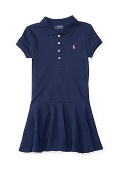 Ralph Lauren Childrenswear Mesh Polo Dress Girls 4-6X