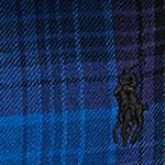 Baby & Kids: Long Sleeve Sale: Blue/ Black Multi Ralph Lauren Childrenswear Plaid Cotton Peplum Shirt Girls 4-6x