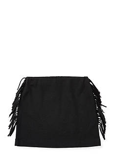Ralph Lauren Childrenswear Fringed Terry Pull-On Skirt Girls 4-6x