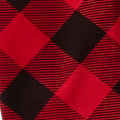 Baby & Kids: Pants & Leggings Sale: Red/ Black Ralph Lauren Childrenswear Buffalo Check Jersey Legging Girls 4-6x