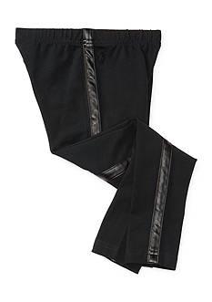 Ralph Lauren Childrenswear Tuxedo-Stripe Jersey Legging Girls 4-6x