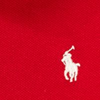 Baby & Kids: Ralph Lauren Childrenswear All Dressed Up: Park Avenue Red Ralph Lauren Childrenswear Velvet Bow Stretch Polo Dress Girls 4-6x