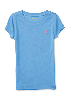 Ralph Lauren Childrenswear Pima Cotton Short Sleeve Crew Tee Girls 4-6x