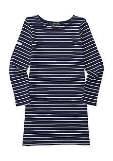 Ralph Lauren Childrenswear Striped Ponte Dress Girls 4-6x